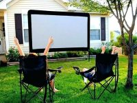 Guide To Create An Outdoor Cinema In Your Backyard